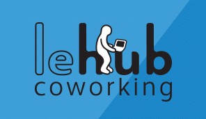 espace coworking Tours logo le hub coworking