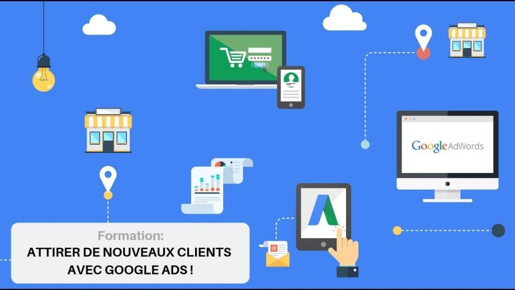 formation google ads tours affiche